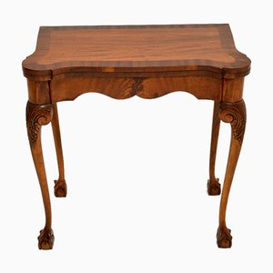 Antique Queen Anne Style Card Table