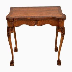 Table à Cartes Style Queen Anne Antique