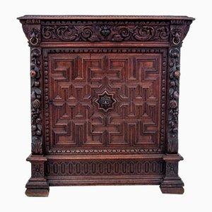Carved Cabinet, France, 1880s