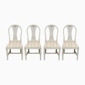 Gustavian Chairs, Set of 4