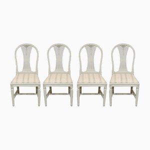 Gustavianische Stühle, 4er Set