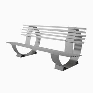 Outdoor Metal Banc Manelco Bench, Cannes, 1958