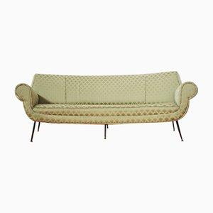 Geschwungenes Sofa von Gigi Radice, 1950er