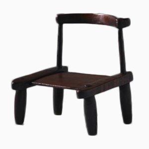 African Baoulé Chair, Ivory Coast, Early 20th Century