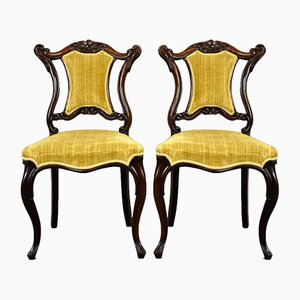 Victorian Rosewood Chairs, Set of 2