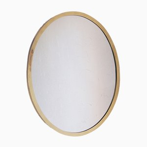 Specchio vintage in ottone, anni '50