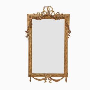 Specchio in legno dorato, inizio XX secolo