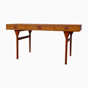 Modell ND 93 Schreibtisch aus Teak und Eiche von Nanna & Jørgen Ditzel für Søren Willadsen Møbelfabrik, 1960er
