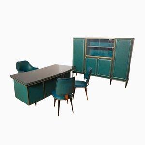 Büroschreibtisch von Umberto Mascagnis, 1950er, 5er Set