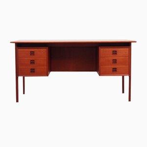 Teak Schreibtisch von Arne Vodder, Dänemark, 1960er