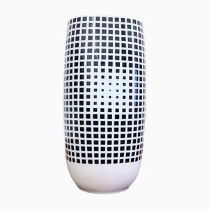 Vaso Op Art nr. 4 di Victor Vasarely per Rosenthal Art Collection, anni '70