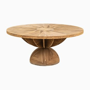 Pinker Tisch von Venti Di Mario Poltronova für Poltronova