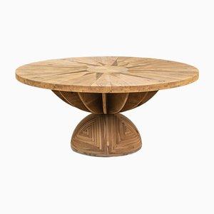 Table Rose par Venti Di Mario Poltronova pour Poltronova