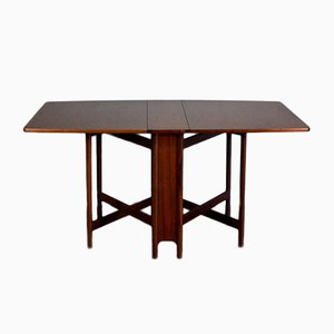 Mid-Century Teak Drop-Leaf Dining Table from McIntosh, 1960s