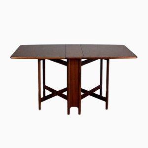 Table de Salle à Manger à Abattants Mid-Century en Teck de McIntosh, 1960s