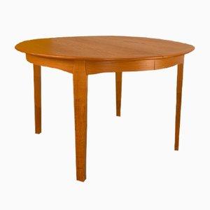 Round Danish Teak Dining Table from Sorø Stolefabrik, Denmark, 1960s
