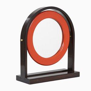 Specchio SP63 con cardini di Ettore Sottsass per Poltronova, anni '60
