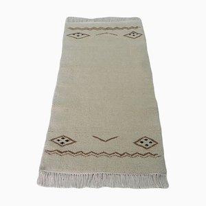 Tunisian Berber Handmade Wool Carpet