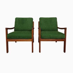Vintage Teak Senator Lounge Chairs by Ole Wanscher for Cado, Set of 2