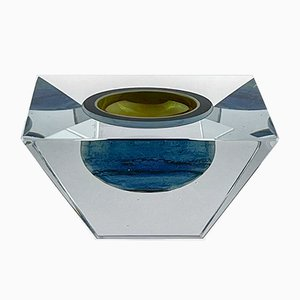 Objeto artístico modelo 3101 de cristal de Oiva Toikka para Nuutajärvi-Nottsjö, Finland, años 90