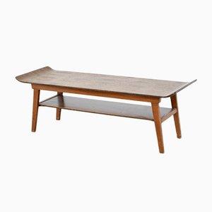 Table Basse à Deux Niveaux Mid-Century en Teck de Myer, 1960s