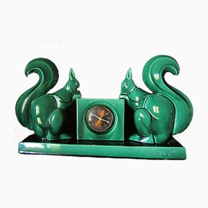 Reloj de contador de Ch. Lemanceau y St Clement