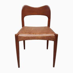 Chaise de Salle à Manger Mid-Century par Arne Hovmand pour Mogens, Danemark