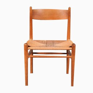 CH36 Dining Chairs by Hans J. Wegner for Carl Hansen, Denmark, 1950s, Set of 4