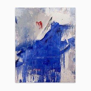 Bloom, abstraktes Gemälde, 2021