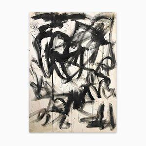 Riflessioni, pittura astratta, 2021