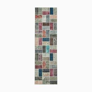 Tapis de Couloir Patchwork Multicolore