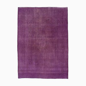 Purple Overdyed Large Area Rug