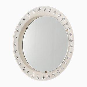 Heller Spiegel aus Lochblech von Hillebrand