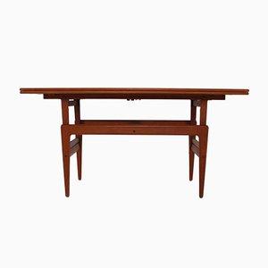 Dänischer Verstellbarer Tisch von Vildbjerg Møbelfabrik