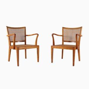 Stühle von Rudolf Frank, 2er Set
