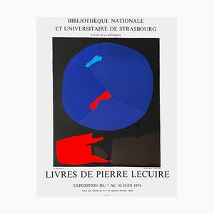 Expo 74 Poster, Bibliothèque de Strasbourg by André Lanskoy