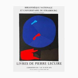 Poster Expo 74, Bibliothèque de Strasbourg di André Lanskoy