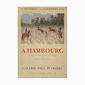Expo 66 Poster, Galerie Paul Pétridès von André Hambourg