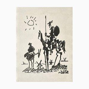 Don Quichotte, Pablo Picasso, Photolithograph, 1955