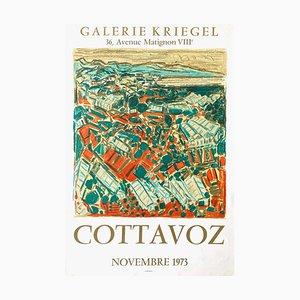 Expo 73 Poster, Galerie Kriegel von André Cottavoz