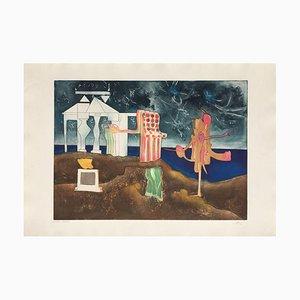L'art Oscar des Heures, 12 Uhr, Roberto Matta, 1975