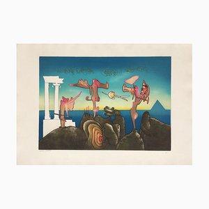 L'art oscur des heures, 5 PM, Roberto Matta, 1975