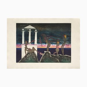 L'art oscur des heures, 10 PM, Roberto Matta, 1975