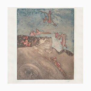 Cosi fan tutte VII, Roberto Matta, Aquatint, 1970