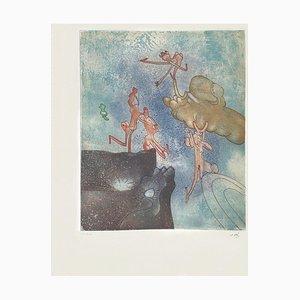 Cosi fan tutte VIII, Roberto Matta, Aquatint, 1970