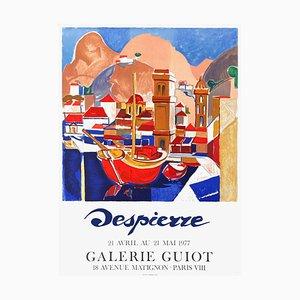 Expo 77 Poster Galerie Guiot von Jacques Despierre