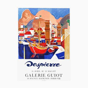 Poster Expo 77 Galerie Guiot di Jacques Despierre