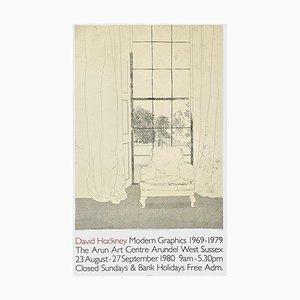 Poster Expo 80, The Arun Art Center di David Hockney