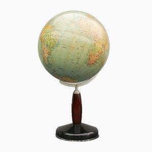 German Earth Globe, 1930s