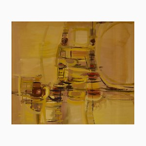 Abstract Rush Hour, Mid 20th-Century, Abstract Piece by John Bolam, 1960s
